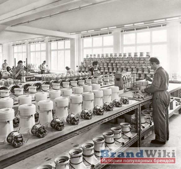 Производство кухонных блендеров