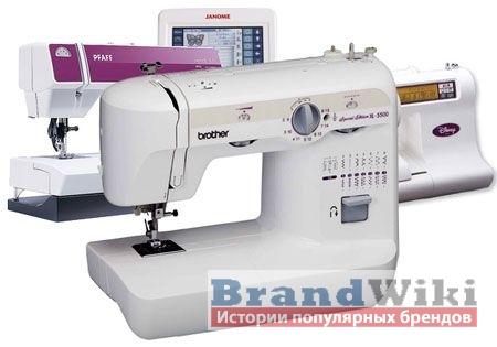Популярные бренды швейных машинок