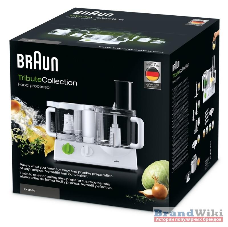 Кухонные комбайны Braun